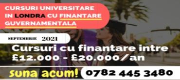 ÃŽnscrieri la cursuri finanÈ›ate