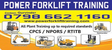 Power Forklift training