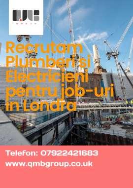 Anunturi UK Job-uri in electric si plumbing