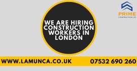 Anunturi UK Angajam permanent Labourers in Londra