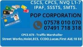 Anunturi UK CSCS, CPCS, NVQ, ECS, SMSTS, PLUMBING