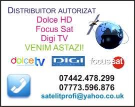 Anunturi UK Londra Antene satelit  - VENIM AZI