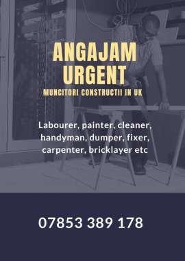 Anunturi UK Angajam urgent muncitori pe santiere