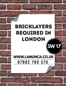 Anunturi UK Angajam Bricklayers in Centrul Londrei