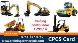 Anunturi UK CPCS-Forklift-Slinger-Dumper-IPAF