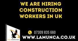 Anunturi UK Angajam muncitori in constructii!