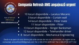Anunturi UK Compania Refresh AMS Angajează Fitters