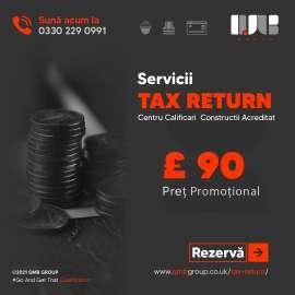 Anunturi UK Tax Return 2021 - £90