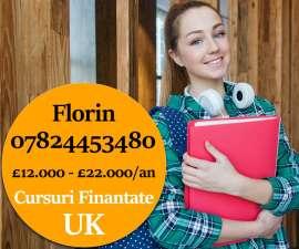 Anunturi UK Cursuri Universitare finantate in Londra