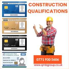 Anunturi UK CSCS CARD, CPCS, ECS , Plumbing