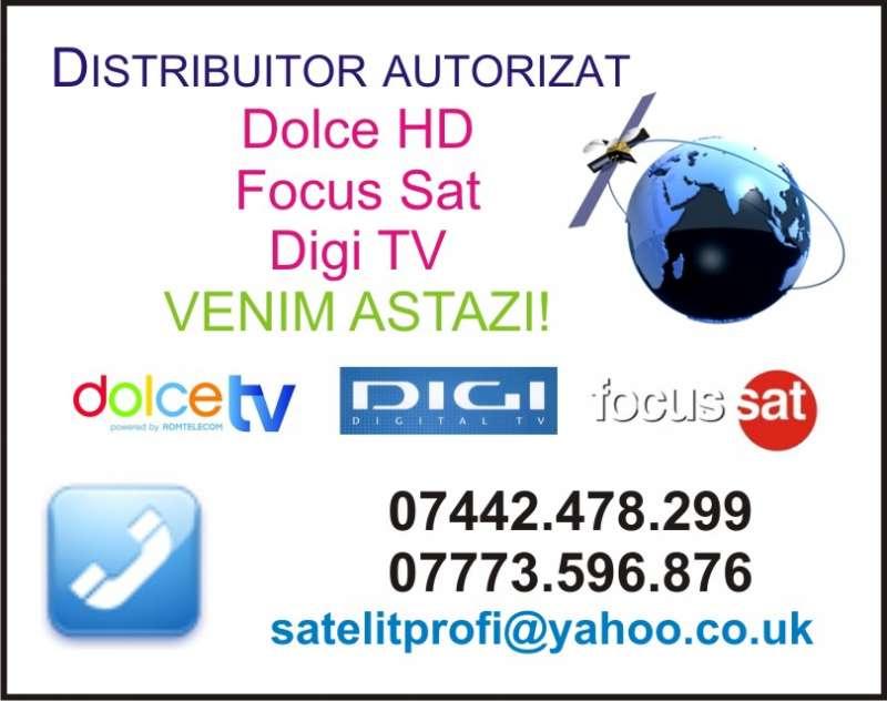 Antene Satelit Londra - VENIM AZI