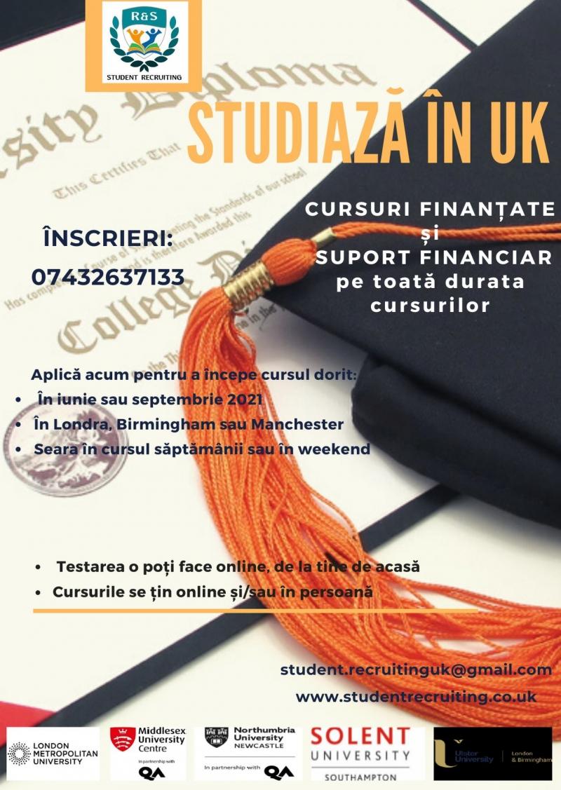 Recrutare cursuri colegiu / universitate