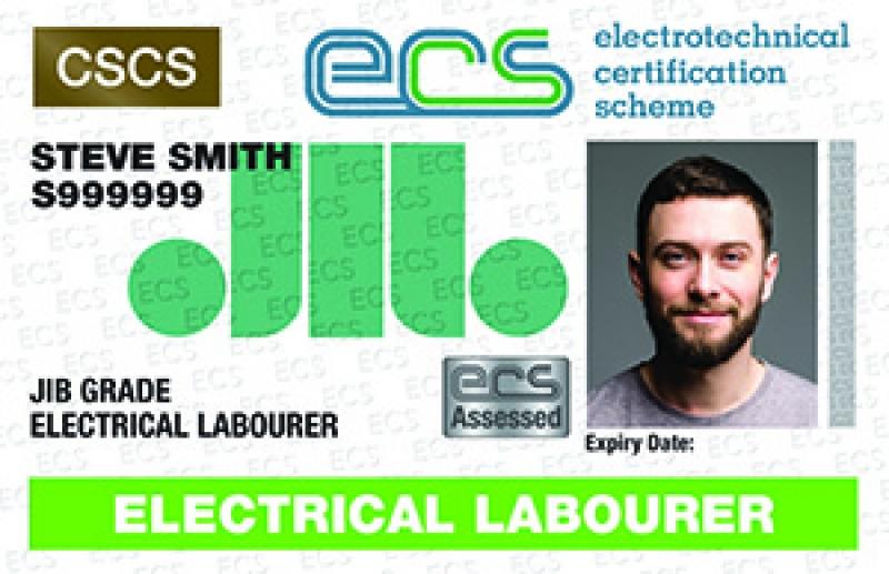 Electrical Labourer Card (ECS)