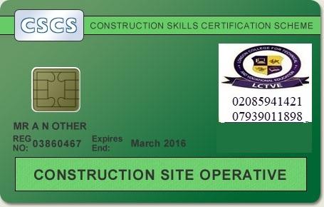 CSCS Card verde