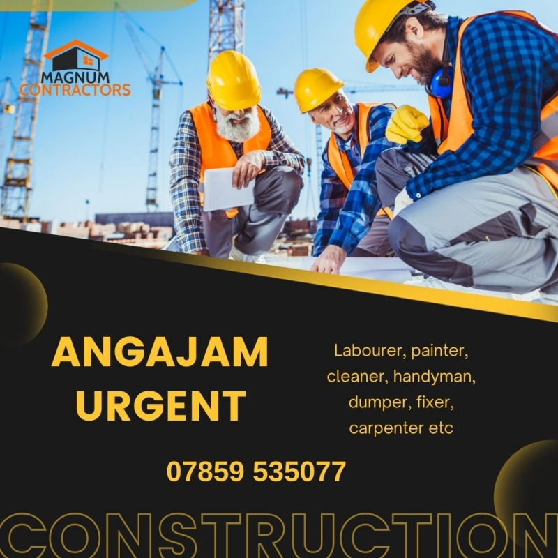 Locuri de munca în constructii