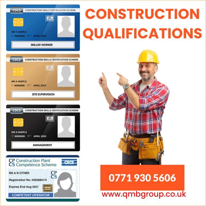CSCS CARD, CPCS, ECS , Plumbing